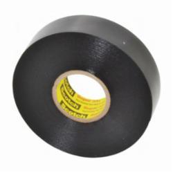 Scotch® 33+™ Premium Grade Electrical Tape, 66 ft L x 3/4 in W x 7 mil THK, PVC, Black