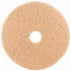 3M 3400 Burnish Pad Tan 20 in 5/cs