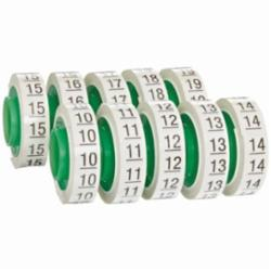 Wire Marker Tape Refill Roll: Numbers - 10-19