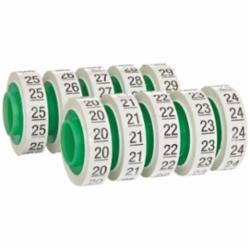 Wire Marker Tape Refill Roll: Numbers - 20-29