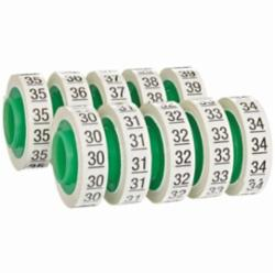 Wire Marker Tape Refill Roll: Numbers - 30-39