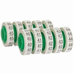 Wire Marker Tape Refill Roll: Numbers - 40-49