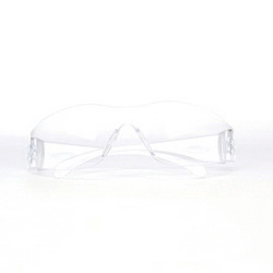 3M 11228-00000-100 Virtua Clear Temple, Clear Lens, Uncoat. (1=100-SOLD AND PRICED PER BOX OF 100)