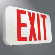 SURELITE APX7R LED EXIT SIGN THERMOPLASTIC HOUSING ALL PRO SERIES