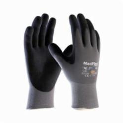 ATG® 42-874/XL MaxiFlex® Ultimate™ 42-874 Knit Gloves, XL, Nitrile Palm, Gray/Black, Seamless Knit, 15 ga Nylon/Lycra®