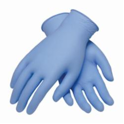 PIP® Ambi-dex® 63-332PF Heavy Duty Industrial Disposable Gloves, XS, Blue, Ambidextrous, Nitrile