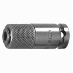 Apex® QR-308 Squared Drive Bit Holder Adapter, 1/4 in Male, 3/8 in Female, 1-3/4 in OAL, 61/64 in Opening Depth