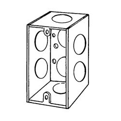 APP 4SSL-3/4 4X2-1/8D HANDY BOX