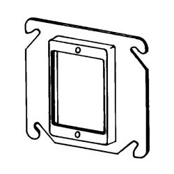 Appozgcomm 8468C Square Box Cover, 4 in L x 4 in W, Steel