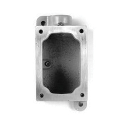 Appleton® EDS271 Dead-End Electrical Box With Internal Ground Screw, Malleable Iron, 1 Gangs, 1 Outlets, 1 Knockouts