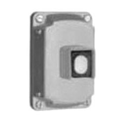 Appleton® EFKBU1 Pushbutton Cover Assembly, 600 VAC, 10 A, 1 Operators