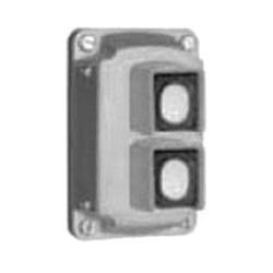 Appleton® EFKBU2 Pushbutton Cover Assembly, 600 VAC, 10 A, 2NO-2NC, 2 Operators