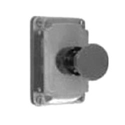 Appleton® EFKBUM1 Pushbutton Cover Assembly, 600 VAC, 10 A, 2NO-2NC, 1 Operators