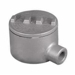 Appleton® GRE50 E style Conduit Outlet Box, 1/2 in, 3.38 in Cover Opening, 18 cu-in, Triple Coat
