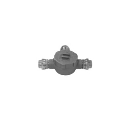 Appleton® Unilet® GRUT75 Style T Conduit Outlet Box, 3/4 in, 3-1/4 in Cover Opening, 19 cu-in, Triple Coat
