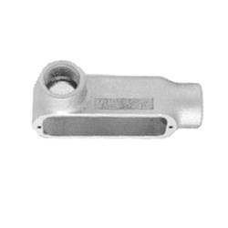 Appleton® LL75-M Type LL Conduit Body, 3/4 in Hub, 35, 7.5 cu-in, Malleable Iron, Triple Coat