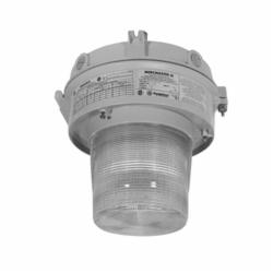 Appleton® Mercmaster™ III ML Enclosed Gasketed Low Profile Compact Fluorescent Fixture With NEMA V 8 in Glass Refractor