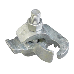 Appleton® PC-75ET Edge Conduit Clamp, 3/4 in, For Use With Rigid Conduit, Malleable Iron, Hot Dipped Galvanized