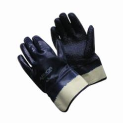 PIP® ArmorGrip® 56-3147 Dipped Fully Coated Gloves, L, Terrycloth Palm, Blue, Rough Grip, Cotton