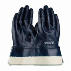 PIPR 56-3176/L NITRILE DIPPED GLOVES ARMORLITE LIGHT WEIGHT FULLY COATED INTERLOCK BLUE 3