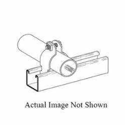 B-LINE B2009PAAL(3/4) PIPE AND CONDUIT CLAMP, RIGID, 3/4-IN., PRE-ASSEMBLED, ALUMINUM
