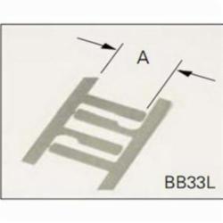 B-LINE BB33L 2-1/4 BOX SUPPORT