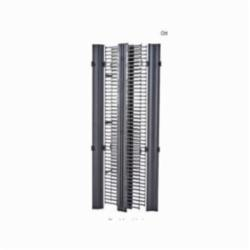 RCM+ VERTICAL CABLE MANAGER, DUAL SIDED HIGH DENSITY, 6-IN.W X 84-IN.H, FLAT BLA