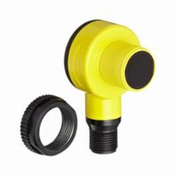 Banner Engineering Ez-Beam® Photoelectric Sensor, Series: T18, Barrel, Retro Reflective Sensing Method, 2 m Sensing Range, Visible red Sensing Beam, 3 ms Response, PNP Output, 10 to 30 VDC, 30 mA, Quick Disconnect, LED Light Source, 10 to 60 Hz, 30 mm L x 30 mm W x 53.7 mm H, NEMA 6P/IP69K, -40 to 70 deg C Operating, Environmental Conditions: 90% at 50 deg C