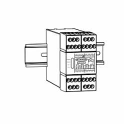 BANNER ES-UA-5A E-STOP 115AC/12-24VDC 4N/O 1 N/C 2 PNP