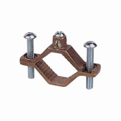 Blackburn® J2-BB Grounding Clamp, 10 to 2 AWG Conductor, Bronze