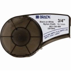 BRADY M21-750-499 0.750 IN X 16 FT (19.05 MM X 4.88 M) ID PAL LABEL CARTRIDGES NYLON