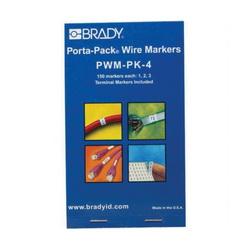 BRADY PWM-PK-4 WIRE MRKR PORTA-PK
