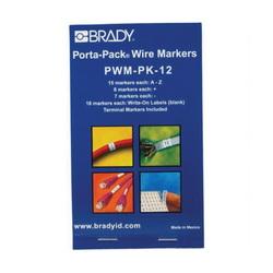 BRADY PWM-PK-12 WIRE MRKR PORTA-PK