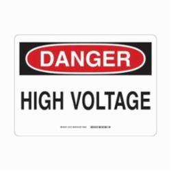 BRADY 43109 7X10 ALUM SAFETY SIGN