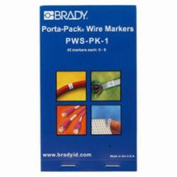 BRADY PWS-PK-1 SELF-LAMINATING WM - LEGEND: 0-9 PAK=10
