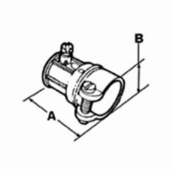 BRDGPORT 281-DC 1/2EMT-1/2FLEX CPLG