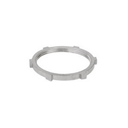 Calbrite™ S60500LN00 Rigid Stainless Steel 316 Locknut 1/2 Trade SizeUL Listed UL514B E308159