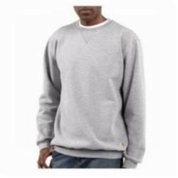 CAR K124HGY-L CREWNECK SWEATSHIRT HEATHER GRAY