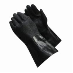 PIPR 57-8640R NEOPRENE COATED GLOVES, ETCHED ROUGH FINISH, BRUSHED INTERLOCK LINED, 14