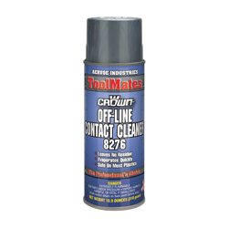 AERVOE 8276 OFF-LINE CONTACT CLEANER 12-oz