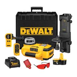 DEWALT DW079KD Self Leveling Cordless Rotary Laser - Int/Ext Kit