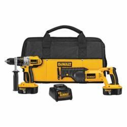 DeWalt Hammer Drill/Reciprocating Saw Combo Kit,DeWALT,Cordless,XRP BAT,18 V,450 WTT