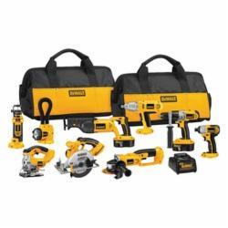 Combo Kit,DeWALT,Cordless,XRP BAT,18 V,NO of tools in kit: 9,NO Of SPD: 3