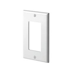 LEV 80401-W 1G WHT WALLPLATE