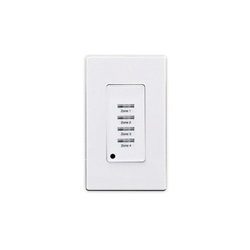LEV LVS-4W LV SWITCH 4 BTN WHITE