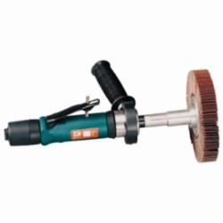 DYNABR 13506 Dynastraight Finishing Tool 1 hp, Straight-Line, 3,400 RPM, Rear Exhaust, 5/8