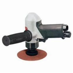 DYNABR 50321 4-1/2in (114 mm) Dia. Pistol Grip Disc Sander .7 hp, 11,000 RPM, Gearless, Rear Exhaust, 5/8in -11 Female Pad