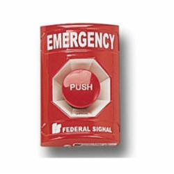 PULL STATION EMERGENCY RED