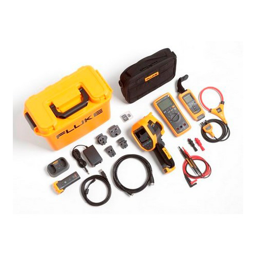 FLUKE FLK-TI200 60HZ/FCA TI200 THERMAL IMAGER WITH DMM A3001FC IFLEX KIT 4475136