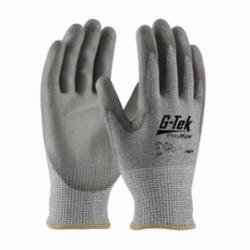 PIPR 16-560/XL G-Tek PolyKor, Gray 13G Seamless Knit Shell, PU Smooth Grip, A4 G-TEK CR, GRAY HPPE/GLASS LINER, 13 GAUGE SEAMLESS SHELL, POLYURETHANE COATED PALM AND FINGERS, EN4543